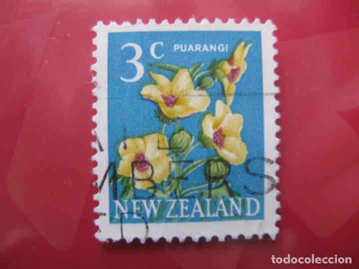 +NUEVA ZELANDA, 1967, FLORA, YVERT 447 (Sellos - Temáticas - Flora)