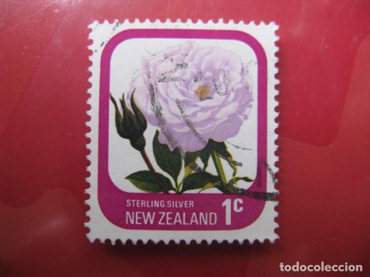 +NUEVA ZELANDA, 1975, ROSAS DE NUEVA ZELANDA, YVERT 645 (Sellos - Temáticas - Flora)