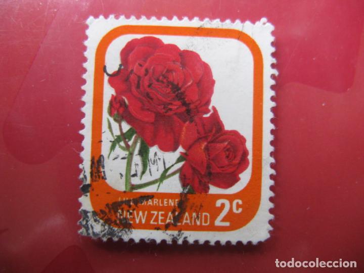 +NUEVA ZELANDA, 1975, ROSAS DE NUEVA ZELANDA, YVERT 646 (Sellos - Temáticas - Flora)
