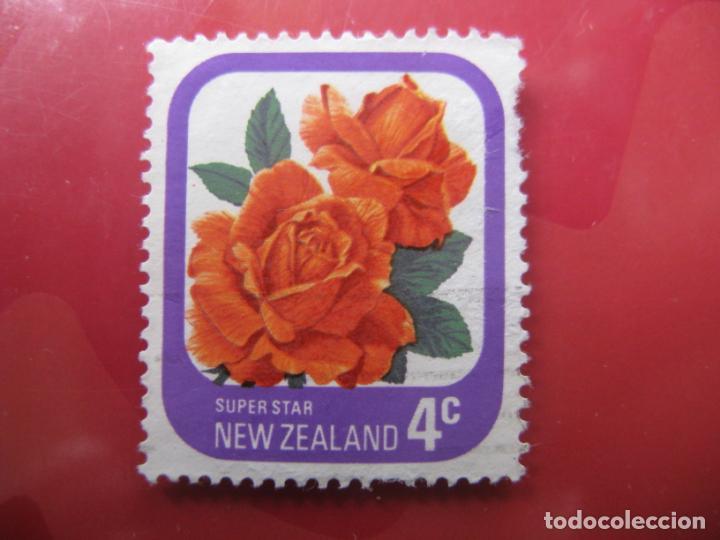 +NUEVA ZELANDA, 1975, ROSAS DE NUEVA ZELANDA, YVERT 648 (Sellos - Temáticas - Flora)