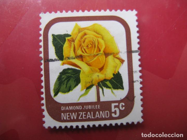 +NUEVA ZELANDA, 1975, ROSAS DE NUEVA ZELANDA, YVERT 649 (Sellos - Temáticas - Flora)