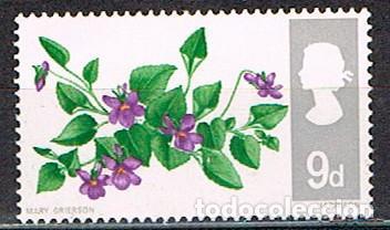 GRAN BRETAÑA Nº 469, VIOLETA DE MONTE. NUEVO *** (Sellos - Temáticas - Flora)
