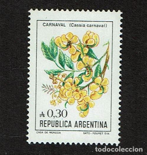 FLORA ARGENTINA CASSIA CARNAVAL (Sellos - Temáticas - Flora)