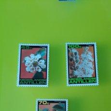 Sellos: FLORES FLORA ANTILLAS HOLANDESAS SERIE COMPLETA NUEVA FLORES FILATELIA COLISEVM. Lote 224143682
