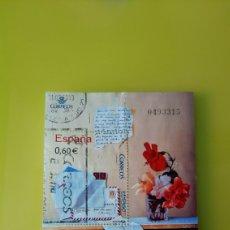Sellos: EDIFIL 4410 ESPAÑA 2009 FLORES BODEGÓN J.CARRERO ARTE PINTURA ESPAÑA 2009. Lote 224727713