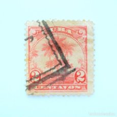 Sellos: SELLO POSTAL CUBA 1905, 2 ¢, PALMAS DE COCO, USADO. Lote 230371280