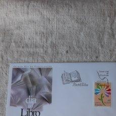 Sellos: ESPAÑA 2001 DÍA LIBRO FLORES EDIFIL 3789 USADO MATASELLO SFC 10 2001 ESPAÑA FILATELIA COLISEVM. Lote 236569715