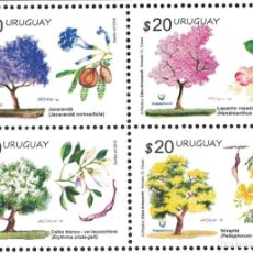 Sellos: UY3504 URUGUAY 2016 MNH SPRING 2016- NATIVE TREES. Lote 236771205