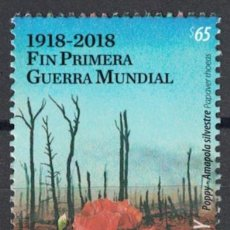 Sellos: UY3636 URUGUAY 2018 MNH END OF WORLD WAR I 1918. Lote 236771655