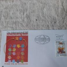 Sellos: VOLUNTARIOS ESPAÑOLES 2001 EDIFIL 3842 USADO MATASELLO FLORA FLORES ESPAÑA FILATELIA COLISEVM. Lote 236882125