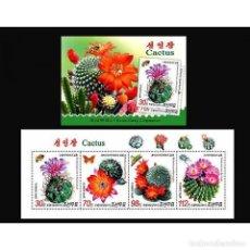Sellos: 🚩 KOREA 2011 CACTUS MNH - CACTI. Lote 243290705