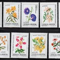 Sellos: ARGENTINA 1352/60** - AÑO 1983 - FLORA - FLORES. Lote 243408760