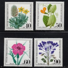 Sellos: ALEMANIA 905/08** - AÑO 1980 -FLORA - FLORES. Lote 244553215