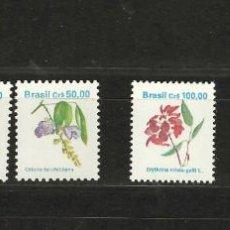 Sellos: BRASIL Nº 1957 Y 1963 AL 1964 Y 1978 Y 2023 AL 2024 (**). Lote 244586115