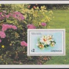 Sellos: F-EX22712 GRENADA MNH SHEET FLOWER FLORES TREE.. Lote 244622100