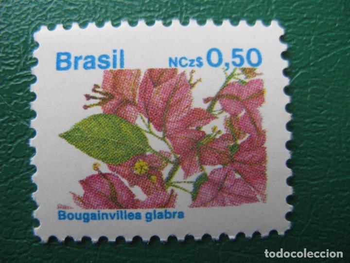 *BRASIL, 1989, FLORA BRASILEÑA, YVERT 1923 (Sellos - Temáticas - Flora)