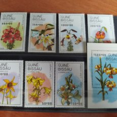 Sellos: GUINEA BISSAU 1989 FLORES. Lote 246260490
