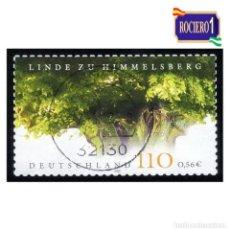 Timbres: ALEMANIA 2001. MICHEL 2208. YVERT 2040. PLANTAS. FLORA. TILO (HIMMELSBERG) USADO. Lote 111316767