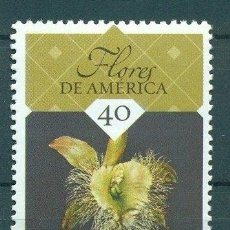 Sellos: ⚡ DISCOUNT CUBA 2015 NATIONAL FLOWERS OF THE AMERICAS MNH - FLOWERS, ORCHIDS. Lote 253845055