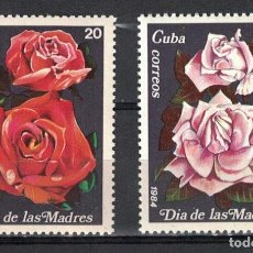 Sellos: ⚡ DISCOUNT CUBA 1984 THE DAY FOR MOTHERS MNH - ROSES. Lote 253847325