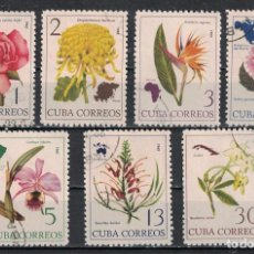 Sellos: ⚡ DISCOUNT CUBA 1965 FLOWERS OF THE WORLD U - FLOWERS. Lote 253847785