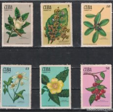 Sellos: ⚡ DISCOUNT CUBA 1970 THE MEDICINAL PLANTS NG - FLOWERS. Lote 253850755