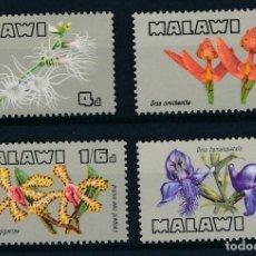 Sellos: MALAWI 1969 IVERT 110/3 *** FLORA - ORQUÍDEAS. Lote 254213615
