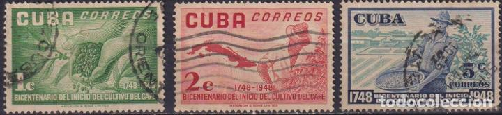⚡ DISCOUNT CUBA 1952 THE 200TH ANNIVERSARY OF THE COFFEE CULTIVATION U - AGRICULTURE, COFFEE (Sellos - Temáticas - Flora)