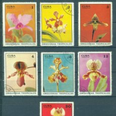 Sellos: ⚡ DISCOUNT CUBA 1971 TROPICAL ORCHIDS U - FLOWERS, ORCHIDS. Lote 255658545