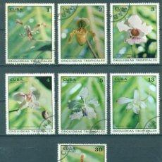 Sellos: ⚡ DISCOUNT CUBA 1973 TROPICAL ORCHIDS U - FLORA, FLOWERS, ORCHIDS. Lote 255658590