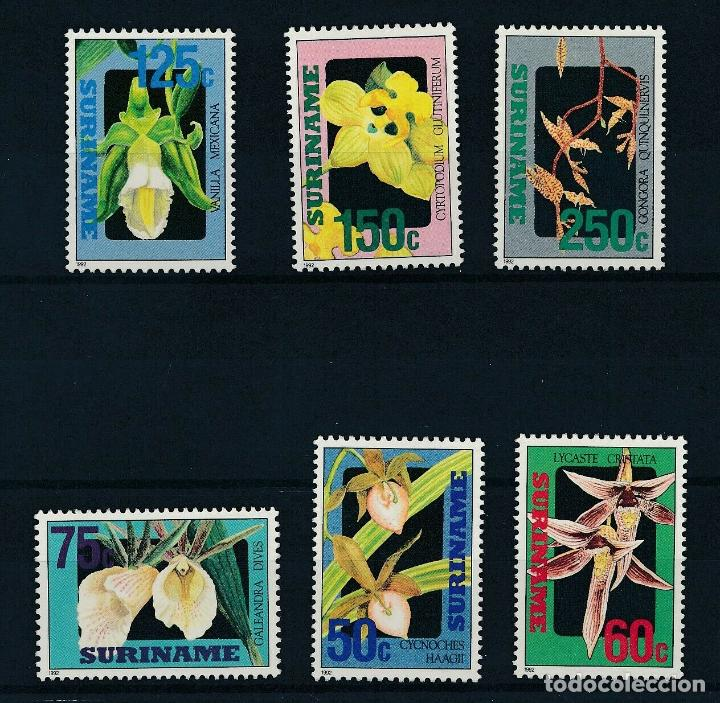 SURINAM 1992 IVERT 1246/51 *** FLORA - FLORES DIVERSAS (Sellos - Temáticas - Flora)
