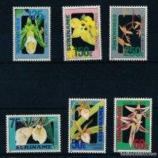 Sellos: SURINAM 1992 IVERT 1246/51 *** FLORA - FLORES DIVERSAS. Lote 257282975