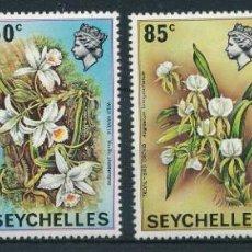 Sellos: SEYCHELLES 1970 IVERT 275/8 *** FLORA - FLORES DIVERSAS. Lote 257473740