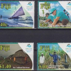 Sellos: ⚡ DISCOUNT FIJI 2018 FIJI PRESIDENCY OF THE UN CLIMATE CHANGE CONFERENCE MNH - NATURE, AGRIC. Lote 261240395