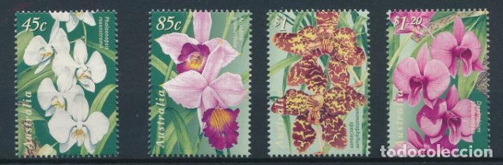 AUSTRALIA 1989 IVERT 1689/92 *** FLORA - FLORES DIVERSAS (Sellos - Temáticas - Flora)