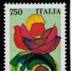 Sellos: ITALIA 1991 - FLOR - YVERT Nº 1899**. Lote 261842600