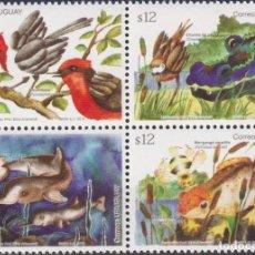 Sellos: ⚡ DISCOUNT URUGUAY 2012 SPRING - FLORA & FAUNA MNH - FLORA, BIRDS, FAUNA, FISH, CROCODILES,. Lote 262873050