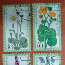 Sellos: ALEMANIA BERLIN 1977. WELFARE: FOREST FLOWERS. Lote 263189805
