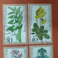 Sellos: ALEMANIA BERLIN 1978. WELFARE: FOREST FLOWERS. Lote 263191325