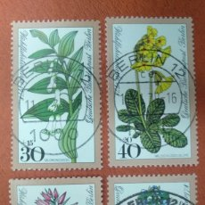 Sellos: ALEMANIA BERLIN 1978. WELFARE: FOREST FLOWERS. Lote 263192710
