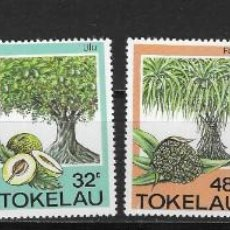 Selos: TOKELAU Nº 118 AL 123 (**). Lote 264026520