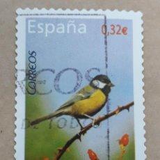 Sellos: SELLO DE ESPAÑA 2009. EDIFIL 4462. FAUNA. CARBONERO COMÚN. USADO.. Lote 264332428