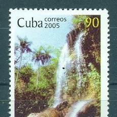 Sellos: ⚡ DISCOUNT CUBA 2005 WORLD WATER DAY MNH - NATURE, WATERFALLS, WATER, PONDS. Lote 266184363