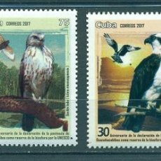 Sellos: ⚡ DISCOUNT CUBA 2017 BIRDS - THE 30TH ANNIVERSARY OF THE GUANAHACABIBES PENINSULA BIOSPHERE RE. Lote 266184723