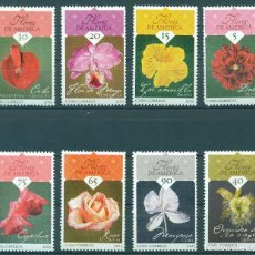 Sellos: ⚡ DISCOUNT CUBA 2015 NATIONAL FLOWERS OF THE AMERICAS MNH - FLORA, FLOWERS. Lote 266184878