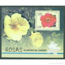 Sellos: ⚡ DISCOUNT CUBA 2007 ROSES NG - FLOWERS, ROSES. Lote 268833949