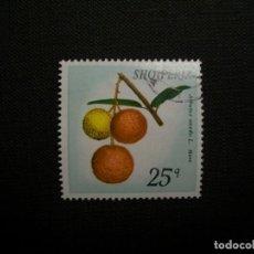 Sellos: /20.07/-ALBANIA-1972-25 G. EN USADO/º/-FLORA. Lote 276545368