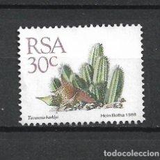 Sellos: SELLO SUDAFRICA FLORA - 19/41. Lote 287738568