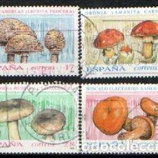 Sellos: EDIFIL Nº 3244/7, MICOLOGIA, NUEVO ***, SERIE COMPLETA. Lote 287760863