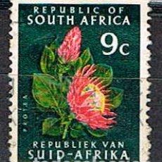 Sellos: SUDAFRICA Nº 407, PLANTAS LOCALES: ZEA MAYS, USADO. Lote 288398208